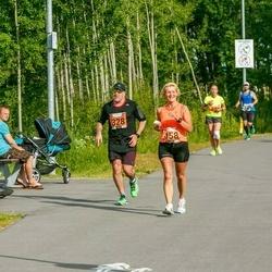 Pärnumaa Võidupüha maraton - Colin Hambidge (328), Eha Lehtoja (458)