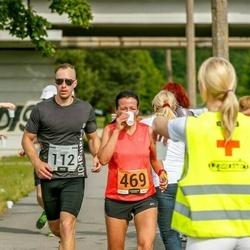 Pärnumaa Võidupüha maraton - Lauri Õnnik (112), Kitty Kubo (469)