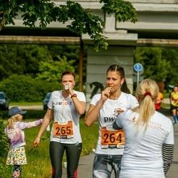 Pärnumaa Võidupüha maraton - Helen Tinkus (264), Andra Joost (265)