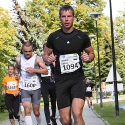 SEB Tallinna Maraton - Jaanus Laidvee (1094), Arno Vaik (1600)