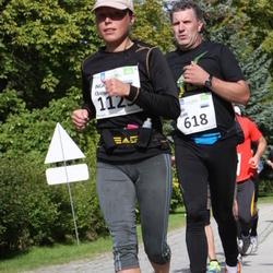 SEB Tallinna Maraton - Aalo Kukk (618), Ingrid Ojang (1125)