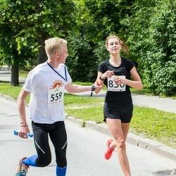 Elva tänavajooks - Rando Ernits (559), Noella-Madleen Pärn (830)