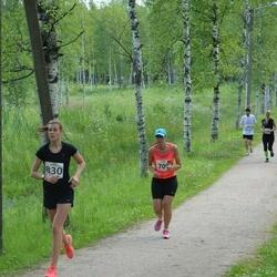 Elva tänavajooks - Piret Kuusma (709), Noella-Madleen Pärn (830)