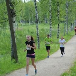 Elva tänavajooks - Kalle Lillemets (720), Kelina Lillemets (722), Fee-Marlen Mägi (749)
