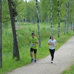 Elva tänavajooks - Kalle Lillemets (720), Kelina Lillemets (722)