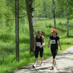 Elva tänavajooks - Kerttu Kose (596), Anni Britta Pajoma (813)
