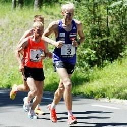 34. jooks ümber Pühajärve - Jaanus Kallaste (3), Andrus Lein (4)