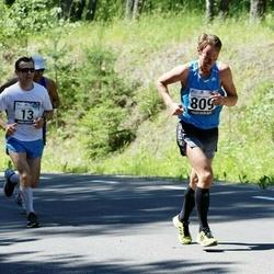34. jooks ümber Pühajärve - Ain Kilk (13), Lauri Luik (809)