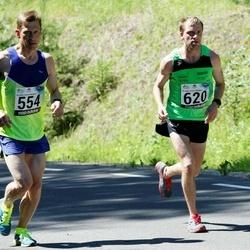 34. jooks ümber Pühajärve - Veljo Liplap (554), Cris Poll (620)