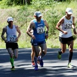 34. jooks ümber Pühajärve - Indrek Mumm (21), Esko Järvi (27), Raivo Pärnpuu (629)