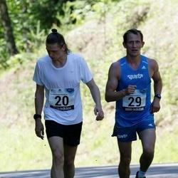 34. jooks ümber Pühajärve - Kevin Väljaots (20), Erkki Hummal (29)