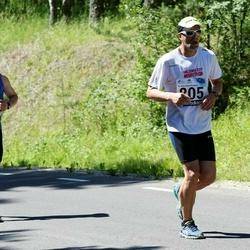 34. jooks ümber Pühajärve - Aivo Traks (35), Olev Org (805)