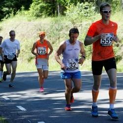 34. jooks ümber Pühajärve - Andre Abner (32), Kristjan Lusikas (559)