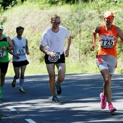 34. jooks ümber Pühajärve - Tarmo Napa (588), Reeda Tuula (725)