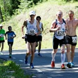 34. jooks ümber Pühajärve - Toomas Toom (90), Rando Riks (110), Alar Ervin (428)