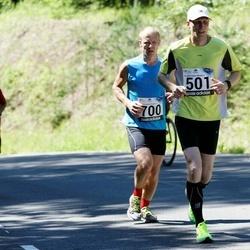 34. jooks ümber Pühajärve - Renee Kulbas (501), Risto Tamme (700)
