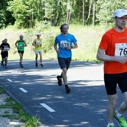 34. jooks ümber Pühajärve - Marek Salla (670)
