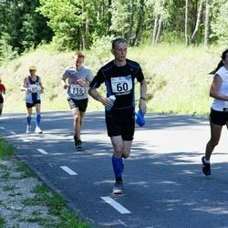 34. jooks ümber Pühajärve - Einar Pihlap (60), Kitty Kubo (77)