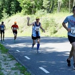 34. jooks ümber Pühajärve - Ivo Volt (69), Toivo Tinast (716)