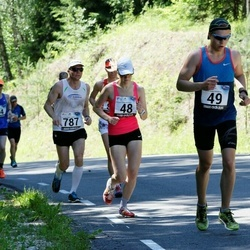 34. jooks ümber Pühajärve - Kairi Schmidt (48), Raiko Raag (49)
