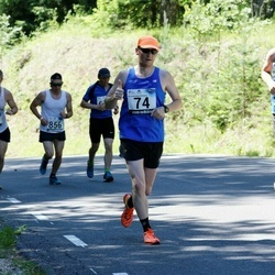 34. jooks ümber Pühajärve - Viljar Hiienõmm (74), Sander Lepik (544)