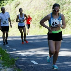 34. jooks ümber Pühajärve - Elisabeth Juudas (451)