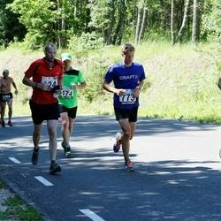 34. jooks ümber Pühajärve - Jaanis Merila (569), Mart Vshivtsev (773)