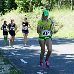34. jooks ümber Pühajärve - Karin Redi (640)