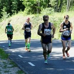 34. jooks ümber Pühajärve - Marge Kikas (479), Arno Anton (840)