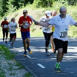 34. jooks ümber Pühajärve - Veiko Tarm (706)