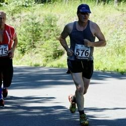 34. jooks ümber Pühajärve - Viktor Murnikov (576), Jaanus Võrk (775)
