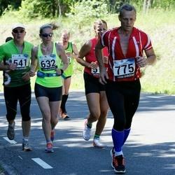 34. jooks ümber Pühajärve - Raivo Lemberg (541), Brit Rammul (632), Jaanus Võrk (775)