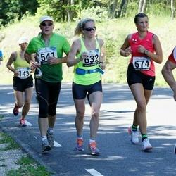 34. jooks ümber Pühajärve - Raivo Lemberg (541), Maria Metsaorg (574), Brit Rammul (632)