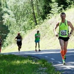34. jooks ümber Pühajärve - Ain Kurvits (502), Sanna Timonen (715)