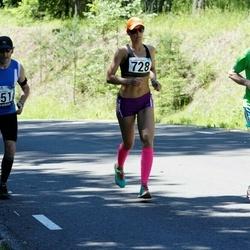 34. jooks ümber Pühajärve - Aleksandr Baranov (115), Anneli Tõugjas (728)