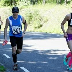 34. jooks ümber Pühajärve - Meelis Lill (551), Anneli Tõugjas (728)