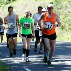 34. jooks ümber Pühajärve - Jüri Sakkeus (117), Külliki Lugenberg (558)