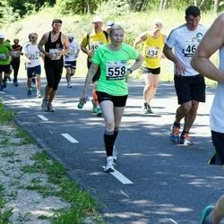 34. jooks ümber Pühajärve - Külliki Lugenberg (558)