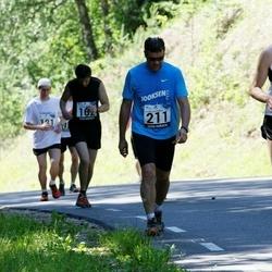34. jooks ümber Pühajärve - Martin Sõmer (211), Risto Rossar (657)