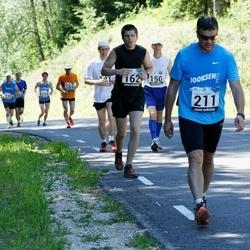 34. jooks ümber Pühajärve - Hardi Hõimoja (162), Martin Sõmer (211)