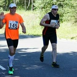 34. jooks ümber Pühajärve - Veiko Jansen (145), Marko Laigna (525)