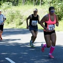 34. jooks ümber Pühajärve - Anette Veerpalu (757), Jaan Mättas (802)