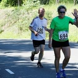34. jooks ümber Pühajärve - Voldemar Sindonen (190), Elina Zaitseva (694), Kristjan Kotli (808)