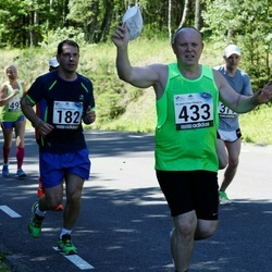 34. jooks ümber Pühajärve - Rain Johanson (182), Toomas Hain (433)