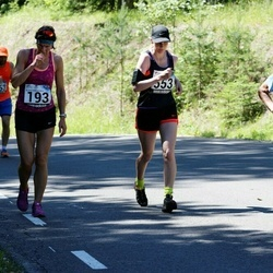 34. jooks ümber Pühajärve - Anneli Lind (553)
