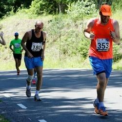 34. jooks ümber Pühajärve - Tõnis Toome (180), Art Elmik (353)