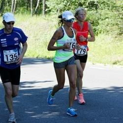 34. jooks ümber Pühajärve - Rauno Roos (135), Kaja Ligi (179)