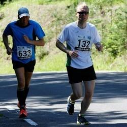 34. jooks ümber Pühajärve - Raine Pajo (132), Tõnu Rannamäe (633)