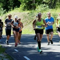 34. jooks ümber Pühajärve - Toomas Talviste (397), Ruth Pallo (610)