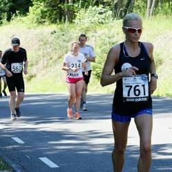 34. jooks ümber Pühajärve - Kadri Veske (761)